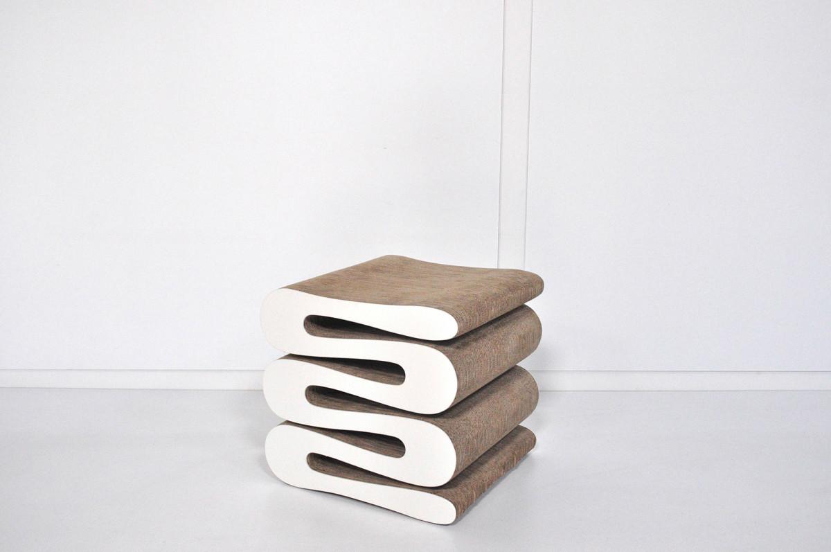 Wiggle stool vitra Èurema interni arredamenti e design